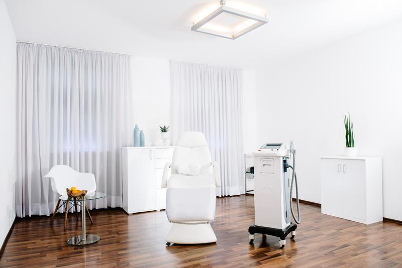sanfte Behandlung ohne Hautirritation